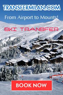 transfer from milan to ski resorts / Трансферы на горнолыжные курорты Италии