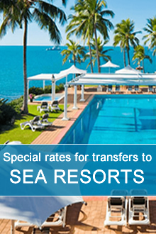 Transfer from Milan airport to sea resorts. Book Milan transfer!