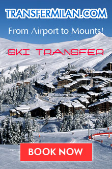 Transfer from milan to ski resorts. Book transfer from Milan!
