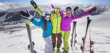 Индивидуальные и групповые трансферы на горнолыжные курорты из аэропортов